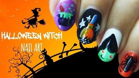 I love October because Halloween is coming and it's so much fun to create Halloween Nails! .  Free tutorial with pictures on how to paint a horror nail manicure in under 90 minutes using base coat, nail polish, and top coat. Inspired by halloween. How To posted by Jennifer R.  in the Beauty section Difficulty: 4/5. Cost: Cheap. Steps: 1