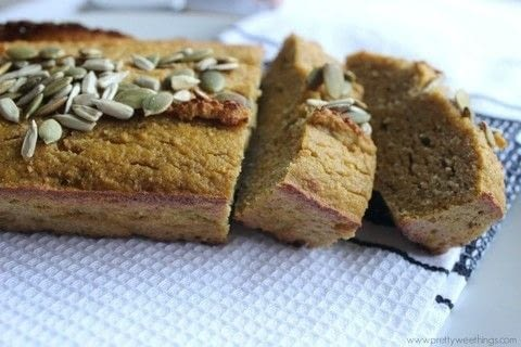 A healthy spiced pumpkin loaf .  Free tutorial with pictures on how to bake a pumpkin cake in under 60 minutes by cooking and baking with butternut pumpkin, pumpkin, and eggs. Recipe posted by Pretty Wee Things.  in the Recipes section Difficulty: Simple. Cost: 3/5. Steps: 3