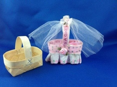 Only the Best for Barbies Baby! .  Make a piece of doll furniture in under 30 minutes by not sewing with basket, ribbons, and tulle. Creation posted by Starr D.  in the Other section Difficulty: Easy. Cost: Absolutley free.
