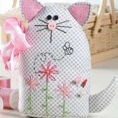 Sweet Kitty Pincushion