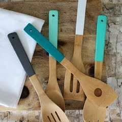 Painted Kitchen Utensils