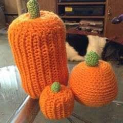 Three Pumpkins And A Clown
