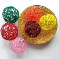 Diy Decorative Yarn Balls