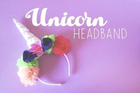 Unicorn headband for a costume party .  Free tutorial with pictures on how to make a horn in under 60 minutes by decorating, embellishing, papercrafting, paper folding, and sewing with hair band, fabric, and wool. Inspired by parties, inspiration, and theme. How To posted by Elena B.  in the Other section Difficulty: 4/5. Cost: 3/5. Steps: 4