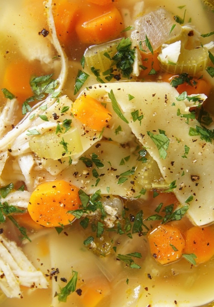 Slow Cooker Chicken Noodle Soup · How To Cook Chicken Soup ...