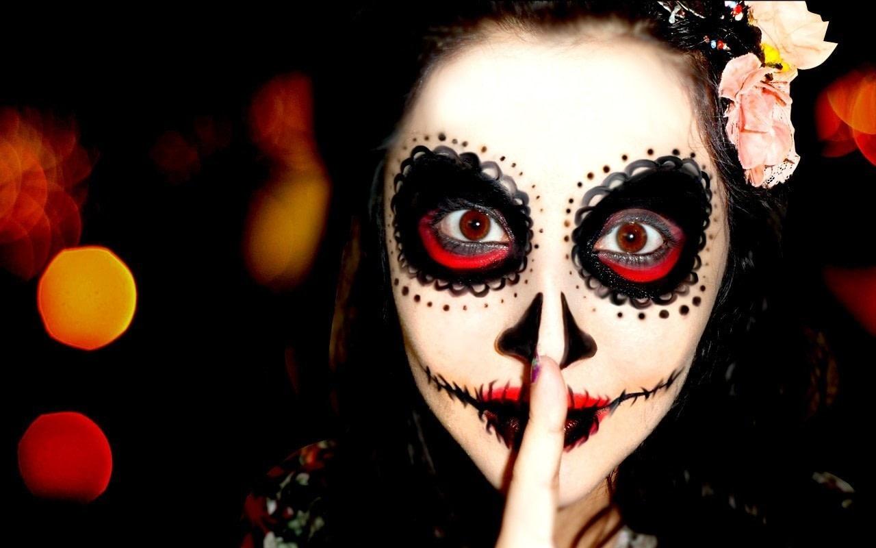 Easy Sugar Skull Makeup Look Inspired by Mexico's Day of the Dead Easy Sugar Skull Makeup Look Inspired by Mexico's Day of the Dead new picture