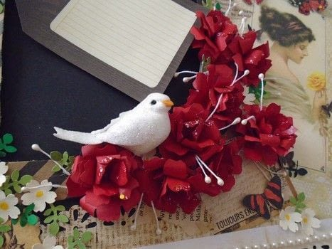 Paper roses .  Free tutorial with pictures on how to make a bouquet in under 20 minutes by papercrafting and paper folding with colored paper and glue. Inspired by roses. How To posted by Hira osman.  in the Papercraft section Difficulty: Easy. Cost: Absolutley free. Steps: 12