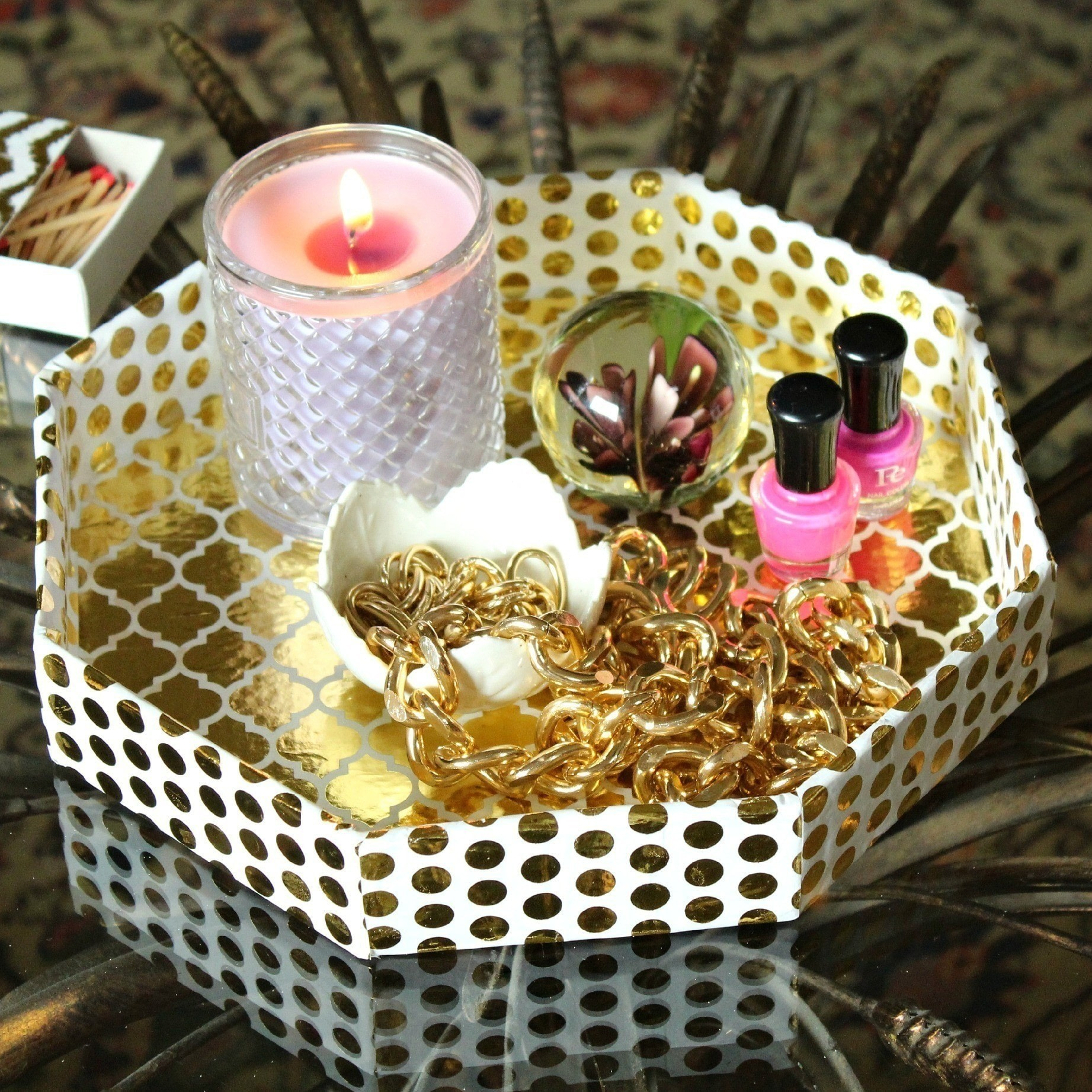 Pretty desk organizers how to make a storage unit for Pretty project