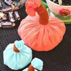 Diy Pumpkin Home Decor Out Of Old T Shirts