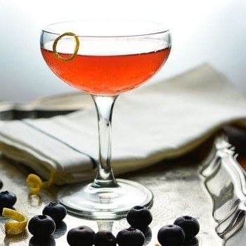 Enjoy a New Orleans Favorite with a Northerner's Flair  .  Free tutorial with pictures on how to mix a Sazerac cocktail in under 5 minutes by mixing drinks with blueberries, whiskey, and absinthe. Recipe posted by Rachel (Simple Seasonal).  in the Recipes section Difficulty: Simple. Cost: 4/5. Steps: 7
