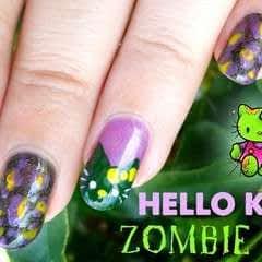 Hello Kitty Zombie Nails ♡