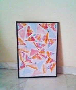 Really cute and easy wall-art .  Free tutorial with pictures on how to make wall decor in under 30 minutes by creating with frame, glue stick, and printer. How To posted by Skay B.  in the Home + DIY section Difficulty: Easy. Cost: Absolutley free. Steps: 3