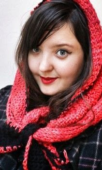 Stay warm this winter with an adorable Little Red Riding Hood inspired snood. .  Free tutorial with pictures on how to make a hooded scarf in 10 steps by crocheting and knitting with yarn, yarn, and knitting needles. How To posted by Cat Morley.  in the Yarncraft section Difficulty: 3/5. Cost: Cheap.