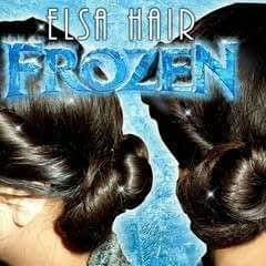 Frozen Elsa's Coronation Twisted Up Do Hairstyle Tutorial