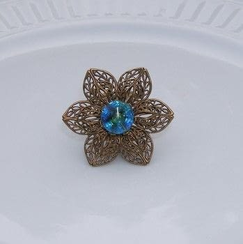 Create a vintage-style ring .  Free tutorial with pictures on how to make a metal ring in under 60 minutes by jewelrymaking with buttons, jewelry glue, and bead cap. Inspired by vintage & retro. How To posted by Terry R.  in the Jewelry section Difficulty: Simple. Cost: 3/5. Steps: 5