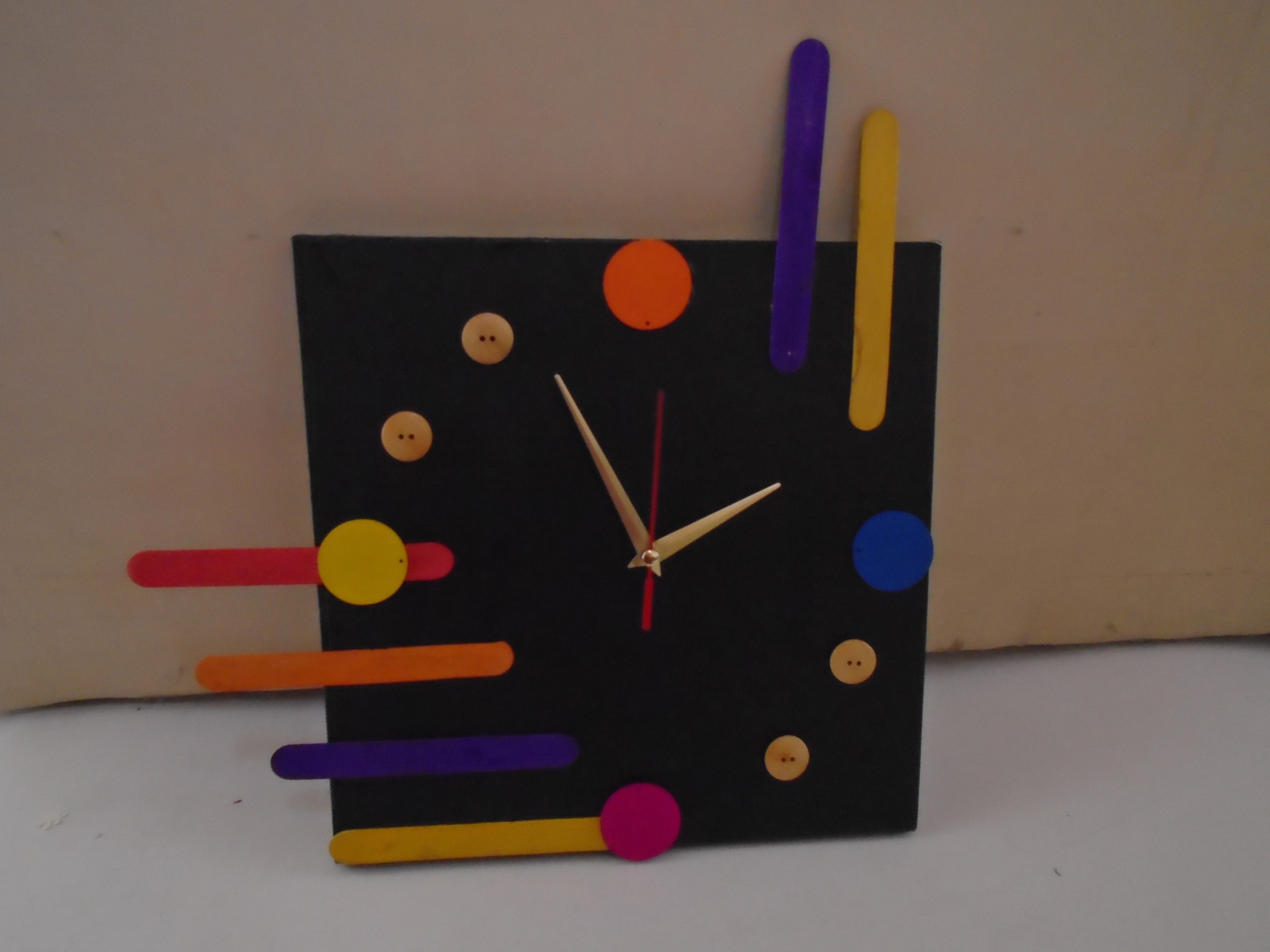 Abstract Wall Clock 183 A Clock 183 Home Diy On Cut Out