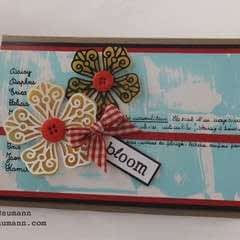 Cardmaking Embellishments With Shimmer Sheetz