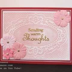 Cardmaking With Embossing Plates & Powders