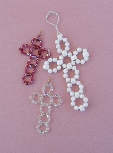 Beaded cross how to make a cross pendant jewelry on cut out keep beaded cross aloadofball Choice Image