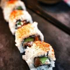 Smoked Salmon Sushi