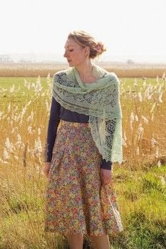 Magical Shetland Lace Shawls to Knit .  Free tutorial with pictures on how to make a shawl in 6 steps by knitting with yarn, knitting needles, and stitch markers. How To posted by Search Press.  in the Yarncraft section Difficulty: 3/5. Cost: Cheap.