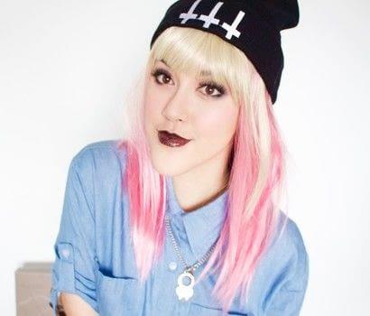 Pink Goth Grunge Makeup Tutorial · How To Create An Eye ...