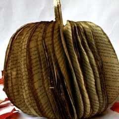 Fall Book Pumpkin