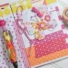 Washi Tape Bound Journal