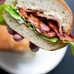 Blt With A Garlic And Sun Dried Tomato Mayo