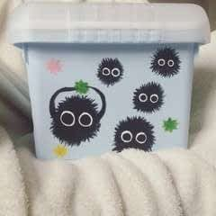 ススワタリ Japanese Soot Sprite Sewing Box