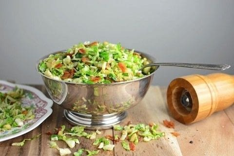 An Easy Side That's Perfect for Your Next Holiday Party!  .  Free tutorial with pictures on how to cook brussel sprouts in under 30 minutes by cooking with bacon, brussels sprouts, and pine nuts. Recipe posted by Rachel (Simple Seasonal).  in the Recipes section Difficulty: Easy. Cost: 3/5. Steps: 5