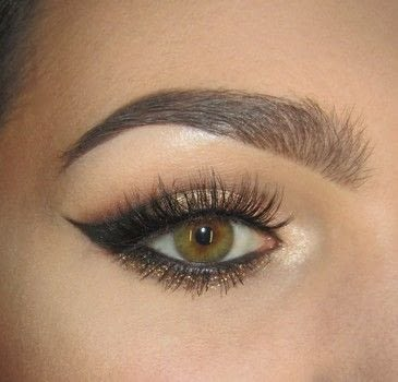 .  Free tutorial with pictures on how to create a cat eye in under 60 minutes by applying makeup with eyeliner, adhesive, and mascara. How To posted by Lena H.  in the Beauty section Difficulty: Simple. Cost: Cheap. Steps: 8