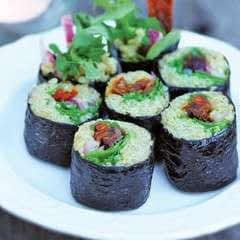 Arugula & Tempeh Sushi