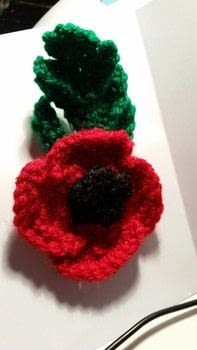 Poppy, knitting .  Make a flowers & rosettes in under 180 minutes by sewing, yarncrafting, and knitting with wool, size, and sewing needle. Inspired by super hero. Creation posted by jenny y.  in the Yarncraft section Difficulty: 3/5. Cost: Cheap.