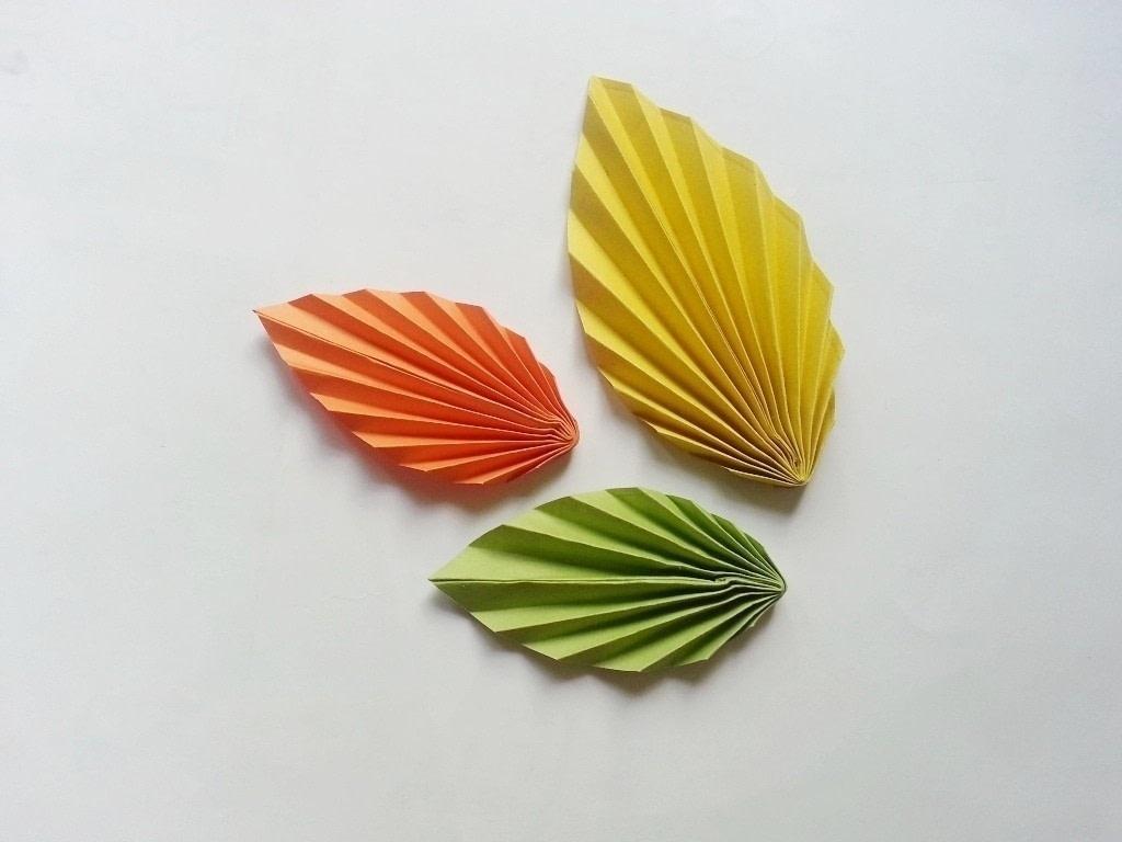 Diy Fun Paper Leaf 183 How To Make A Paper Model