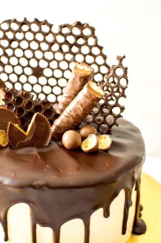 Chocolate Peanut Butter Cake Vancouver