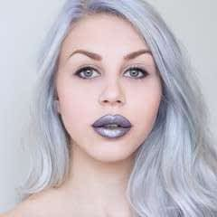 Edgy and bold lips