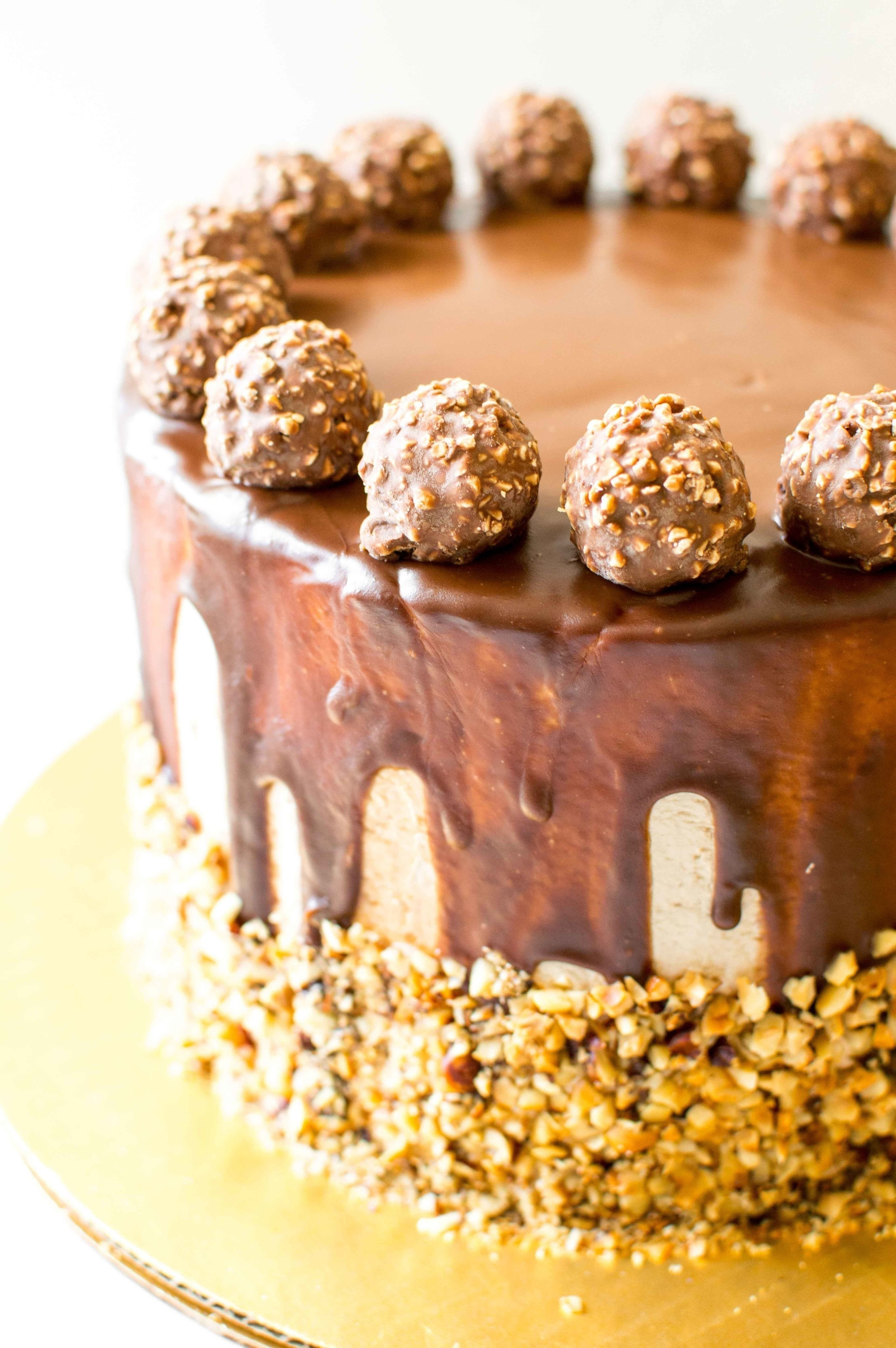 Ferrero Rocher Cake 183 How To Bake A Chocolate Cake