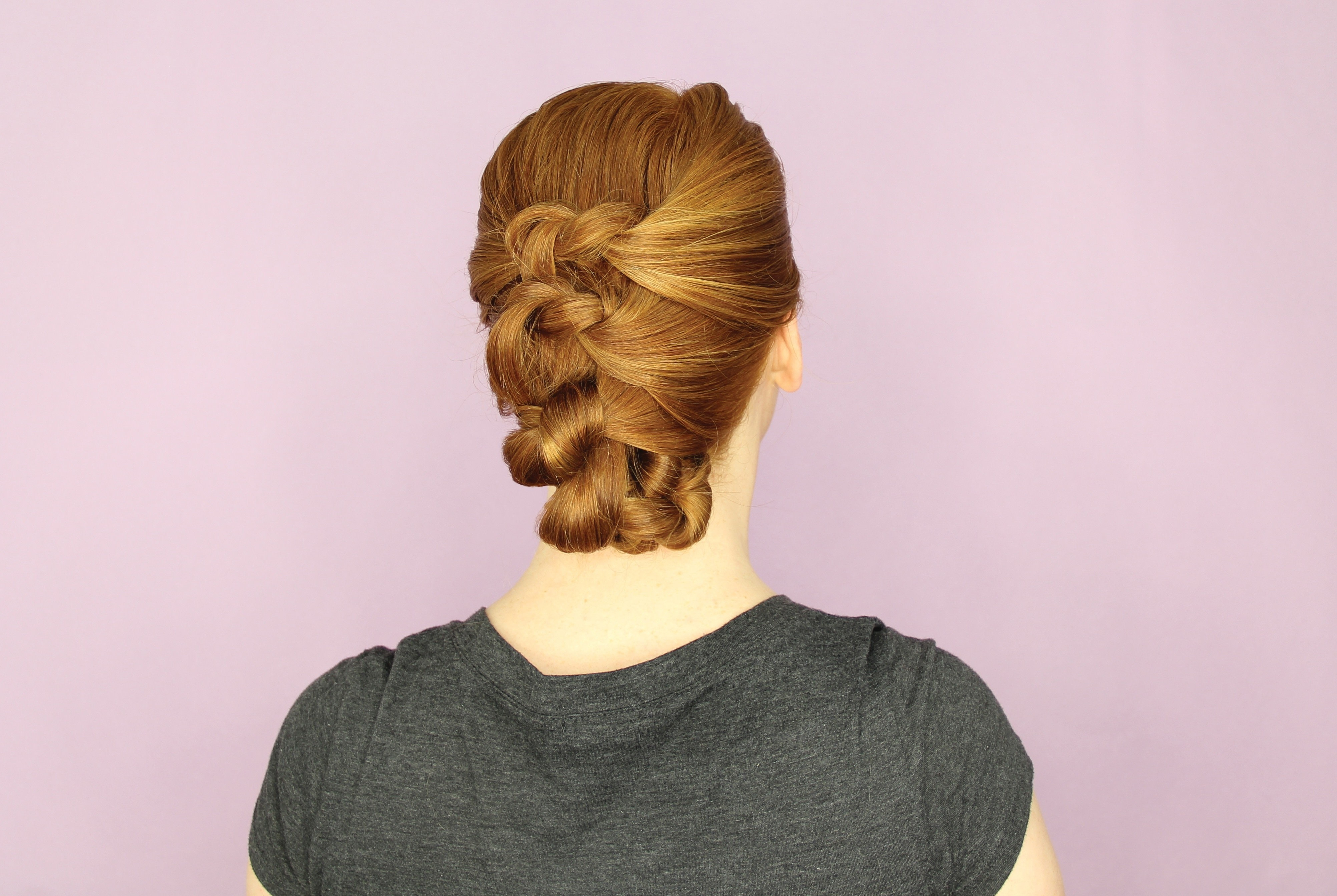 Knotted Updo · Extract From DIY Updos, Knots, And Twists