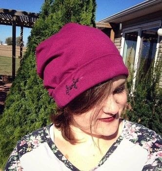 A beanie for every occasion! .  Free tutorial with pictures on how to make a beanie in under 45 minutes using sewing equipment and knit fabric. How To posted by Cheryl .  in the Sewing section Difficulty: Simple. Cost: Absolutley free. Steps: 1