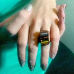 Amalgam Rings With Nunn Designs Crystal Clay