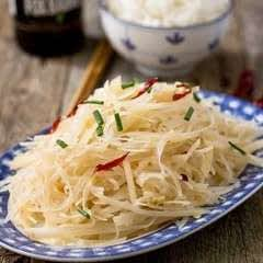 Spicy And Sour Shredded Potato