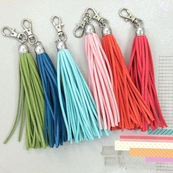 Make your own suede tassels  .  Free tutorial with pictures on how to make a tassels in under 15 minutes using scissors, thread, and ruler. How To posted by Mui Hong A.  in the Home + DIY section Difficulty: Easy. Cost: Absolutley free. Steps: 8