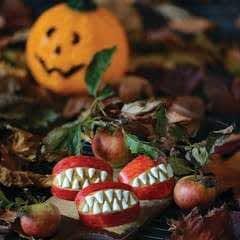 Vampire Apple Wedges