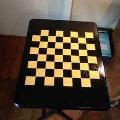Folding Checker Table