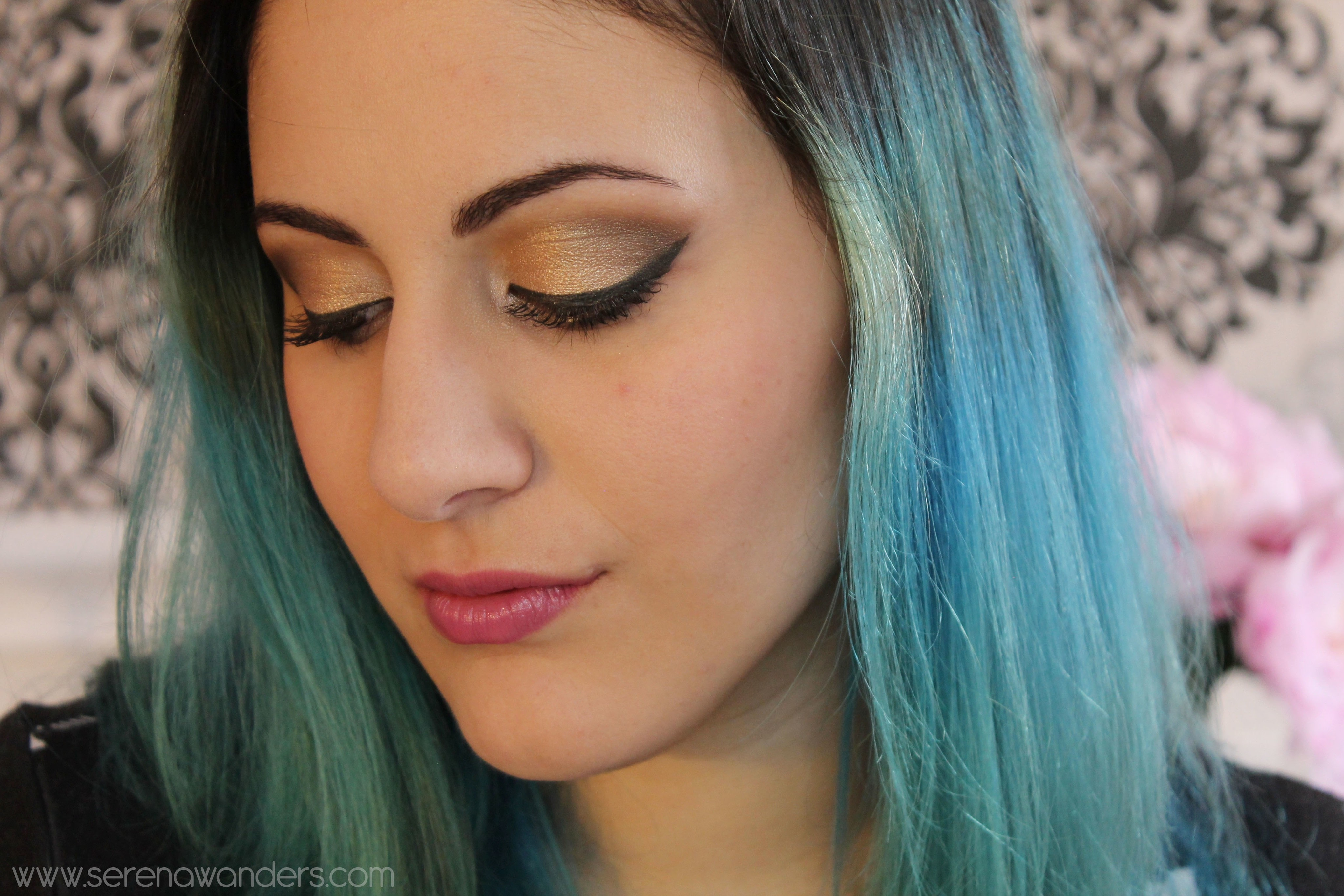 Makeup Tutorial With The Naked Palette  Soft And Gold -6442