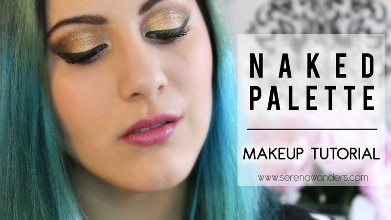 Makeup Tutorial With The Naked Palette  Soft And Gold