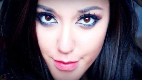 arabian smokey blue eye makeup · how to creat an arabic