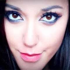 Arabian Smokey Blue Eye Makeup