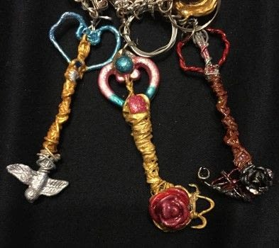 .  Make a charm / keyring in under 150 minutes Inspired by kingdom hearts. Version posted by Kinhime Dragon. Difficulty: Simple. Cost: No cost.